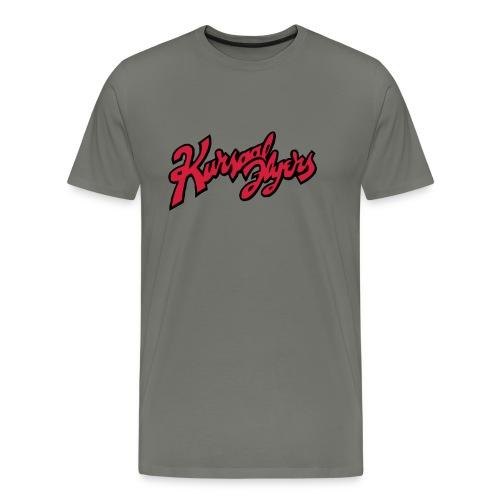 Kursaal Flyers vector - Men's Premium T-Shirt