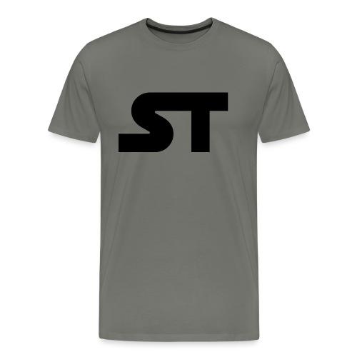 ST SIMPLE BLACK png - Männer Premium T-Shirt