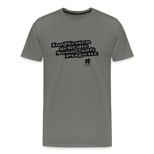 Stoffbeutel Plagwitz - Männer Premium T-Shirt