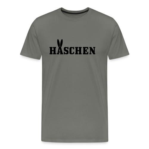 Häschen mit Öhrchen - Männer Premium T-Shirt