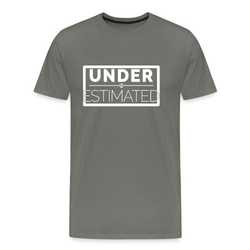 Under Estimated Logo W - Men's Premium T-Shirt