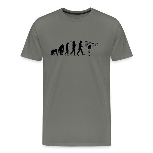 evolution_of_fight sport krav maga - Mannen Premium T-shirt