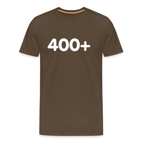 400 - Mannen Premium T-shirt