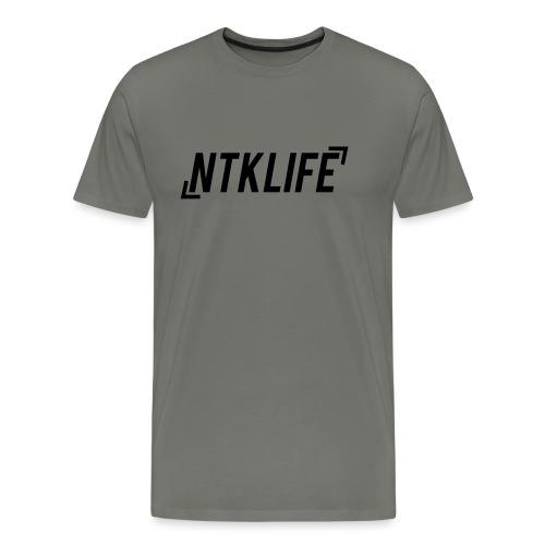NTKLIFE AI KANTER - Premium-T-shirt herr