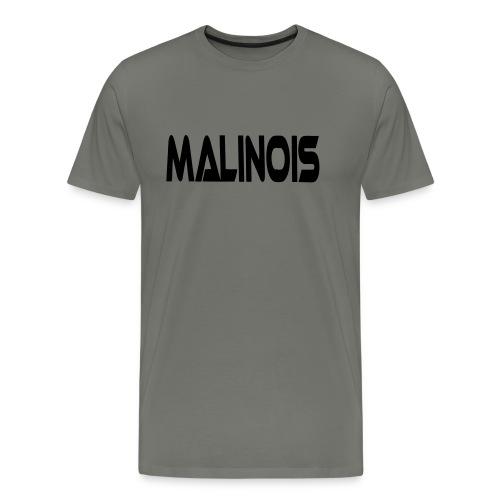 malinoisschrift1 - Männer Premium T-Shirt