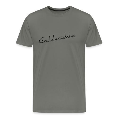 Goldmädche - Männer Premium T-Shirt