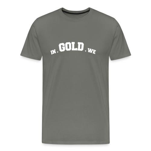 gowtu blk png - Mannen Premium T-shirt