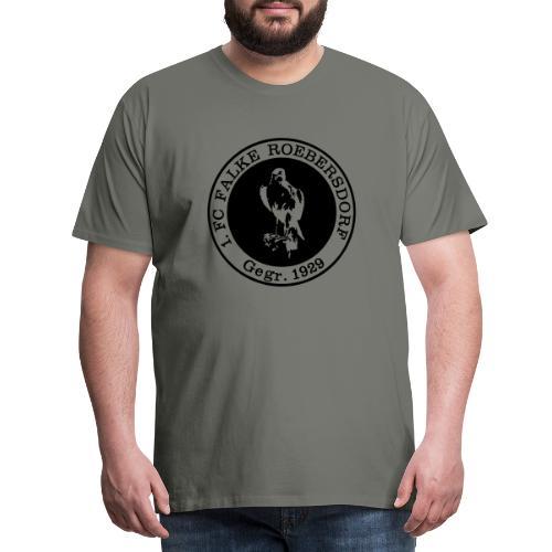 VORNE FCR LOGO RETRO - Männer Premium T-Shirt