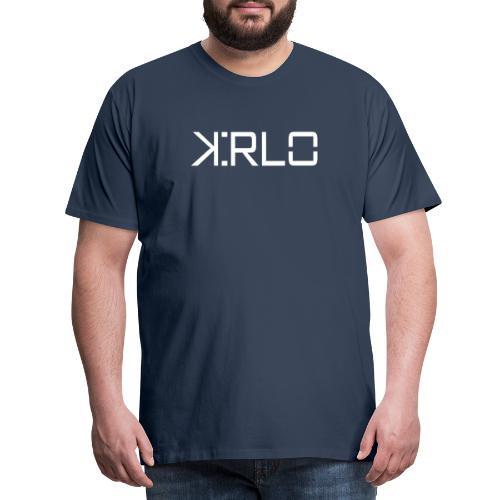 Kirlo Logo Blanco - Camiseta premium hombre