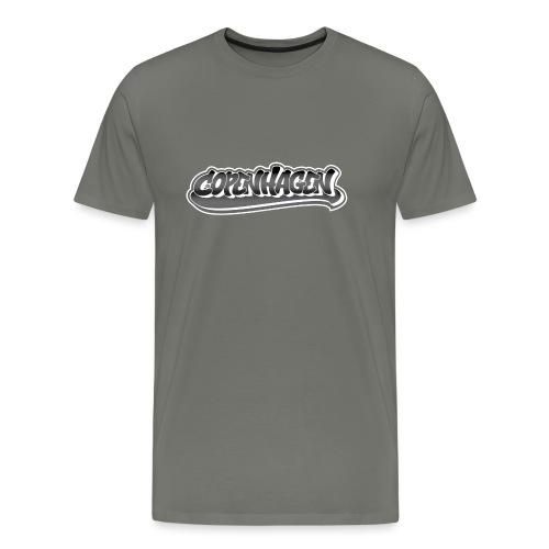 copenhagen graffiti style - Herre premium T-shirt