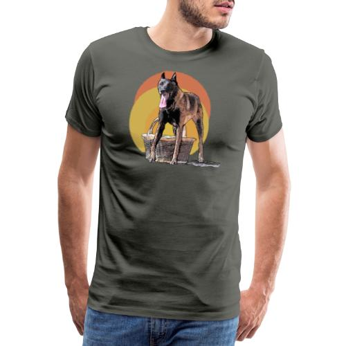 je garde le panier - T-shirt Premium Homme