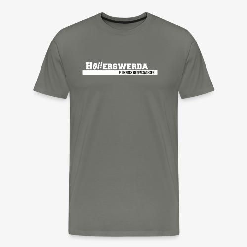 Logo Hoierswerda transparent - Männer Premium T-Shirt