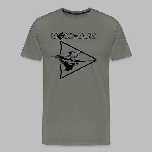 Bow-Bro Logo - Männer Premium T-Shirt