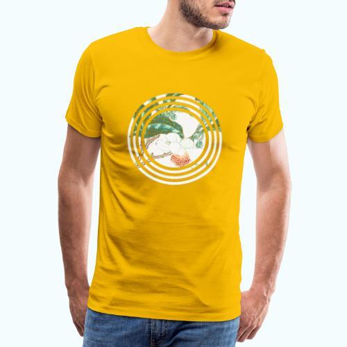 Flowers watercolor vintage - Men's Premium T-Shirt