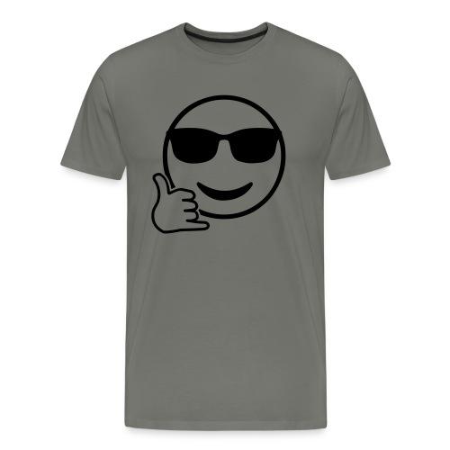Shaka Emoji - Männer Premium T-Shirt