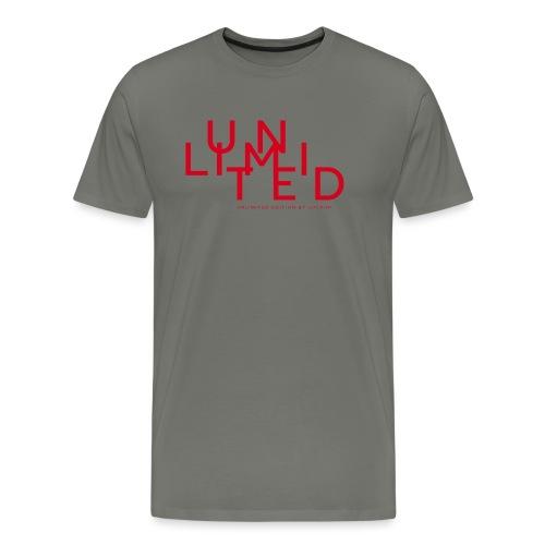 Unlimited red - Men's Premium T-Shirt