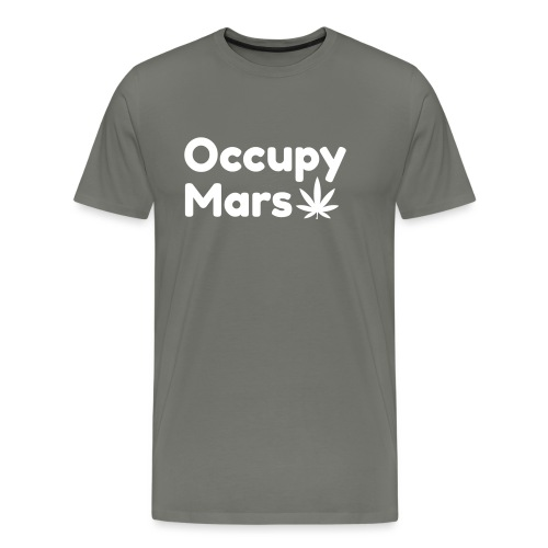 Occupy Mars Weed Edition - Men's Premium T-Shirt