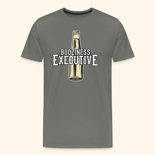 Booziness Executive Bier-T-Shirt - Männer Premium T-Shirt