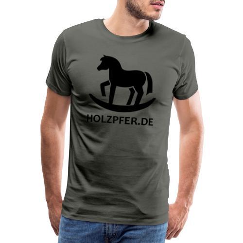 Holzpferde - Männer Premium T-Shirt