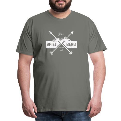 Der Spielberg White - Männer Premium T-Shirt