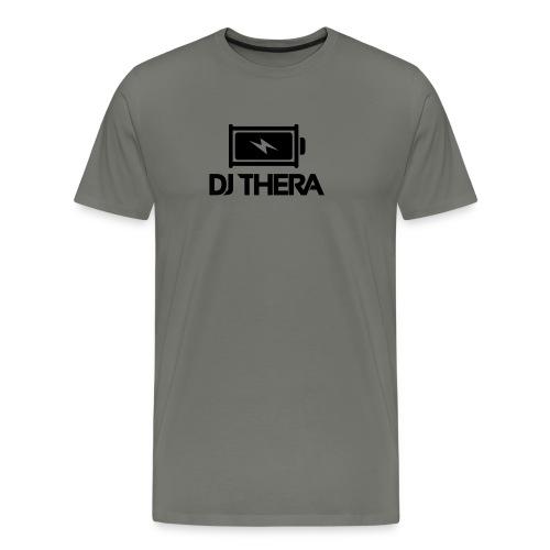BLACK (1) - Mannen Premium T-shirt