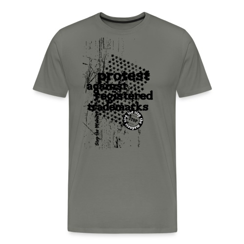 TRADEMARKS - STOP THE MADNESS - Männer Premium T-Shirt