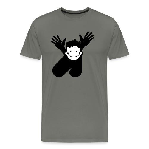 a curl - Men's Premium T-Shirt