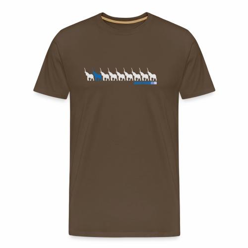 2wear Elepant street flow - Herre premium T-shirt