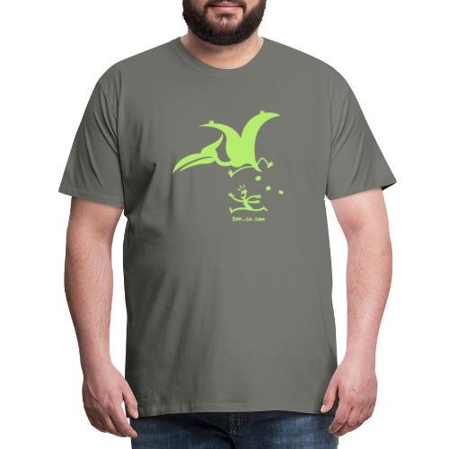 Catastrophicus Pterodactylus - Men's Premium T-Shirt