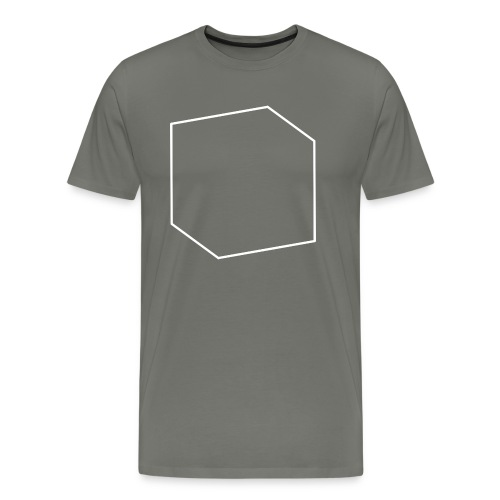 goCreative Cube white - Men's Premium T-Shirt