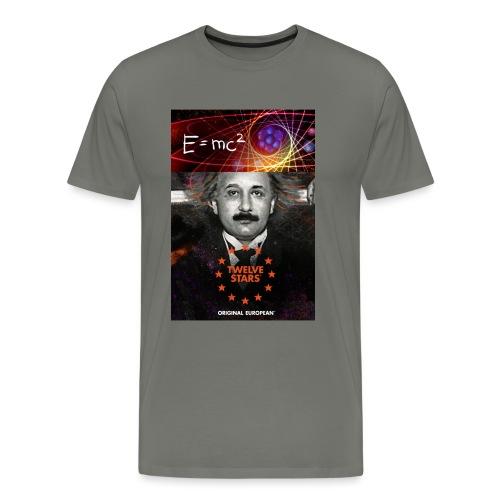 EURO GENIUS - EINSTEIN - Men's Premium T-Shirt
