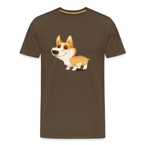 Corgi - Mannen Premium T-shirt