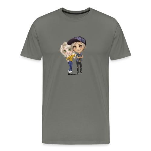 Emily ja Lucas - Miesten premium t-paita