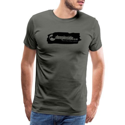 deepinside world reference marker logo black - Men's Premium T-Shirt