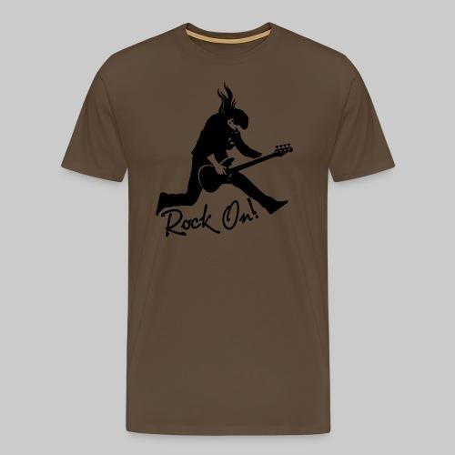 Rock On Nr. 2 - Männer Premium T-Shirt