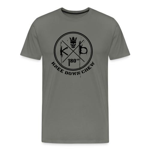 KD Logo Kopie Zeichenfla che 1 - Männer Premium T-Shirt