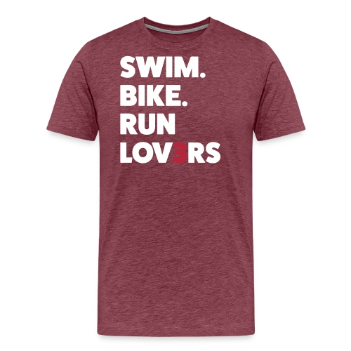 runlov3rs - Maglietta Premium da uomo