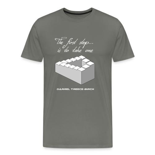 The first step infinite - Men's Premium T-Shirt