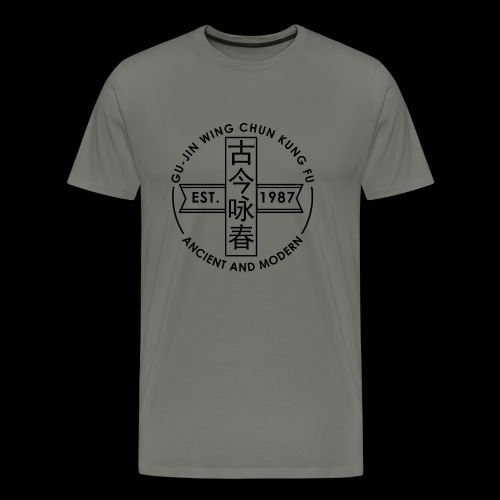 circular logo - Men's Premium T-Shirt