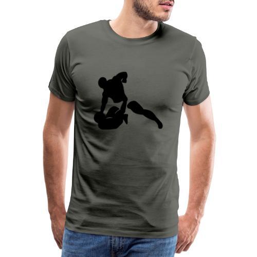 G&P, schwarz, svg - Männer Premium T-Shirt