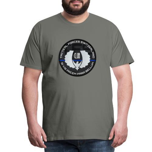 TFS Badge gris - T-shirt Premium Homme