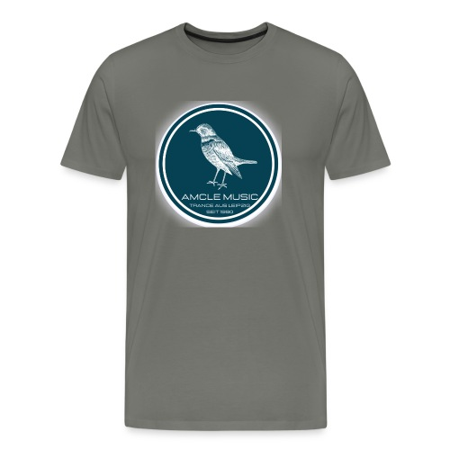 amcle music logo 2021 - Männer Premium T-Shirt