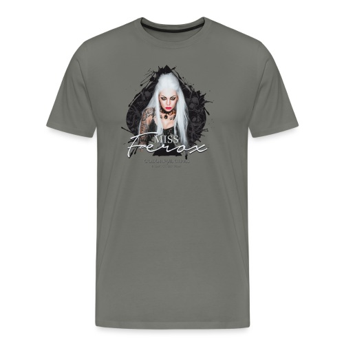 Miss Ferox - Männer Premium T-Shirt