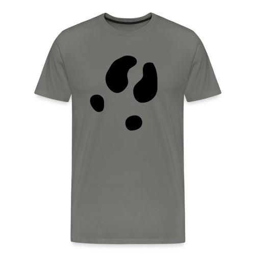 fussabdruck - Männer Premium T-Shirt
