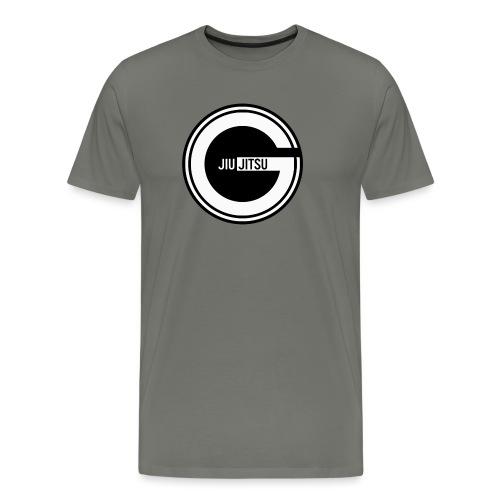 Godalmingbjjlog1 - Men's Premium T-Shirt
