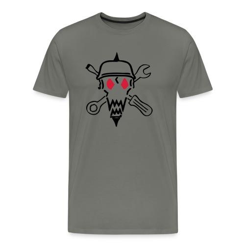 kopf ohne mc cs2 - Männer Premium T-Shirt