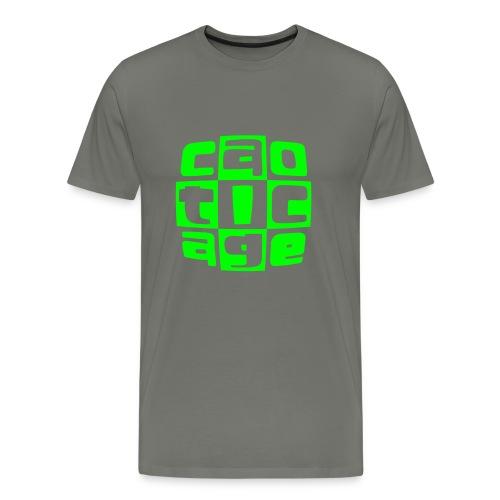 caoticagelogo - Maglietta Premium da uomo