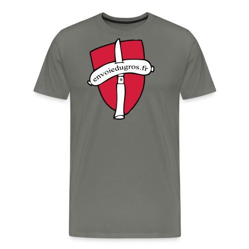 blason envoie du gros - T-shirt Premium Homme