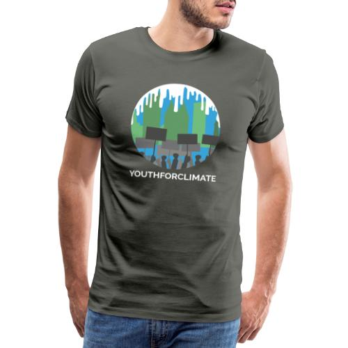 Youth for Climate Change - Mannen Premium T-shirt