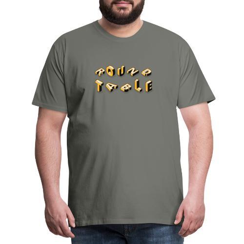 round table 2019 liegend - Männer Premium T-Shirt